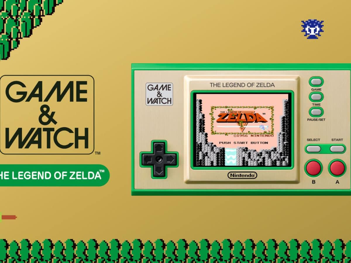 Game Watch System für Zelda in Nintendo Direct