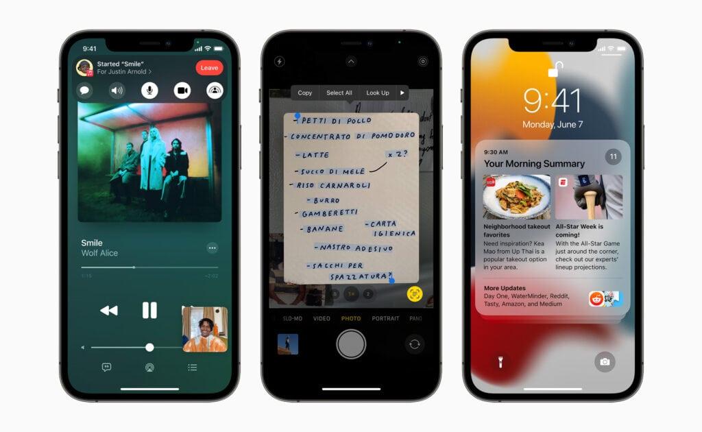 iOS 15 Neue Funktionen