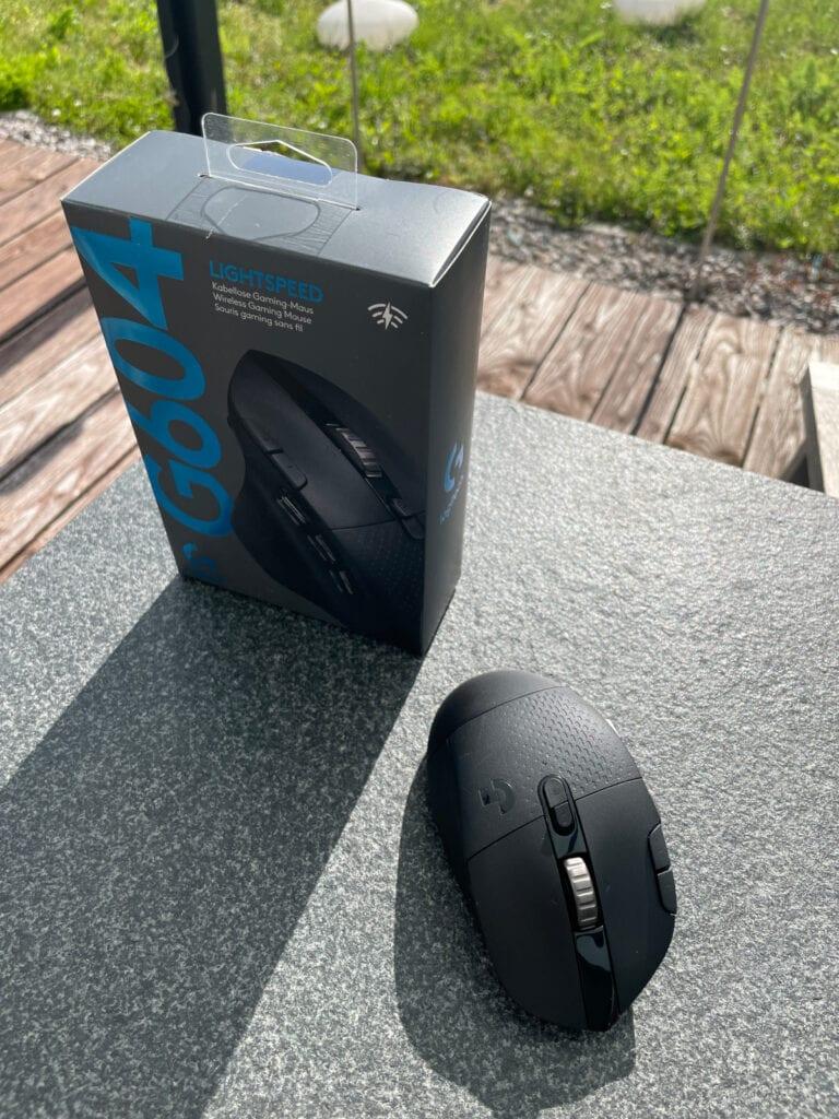 Logitech G604 Verpackung