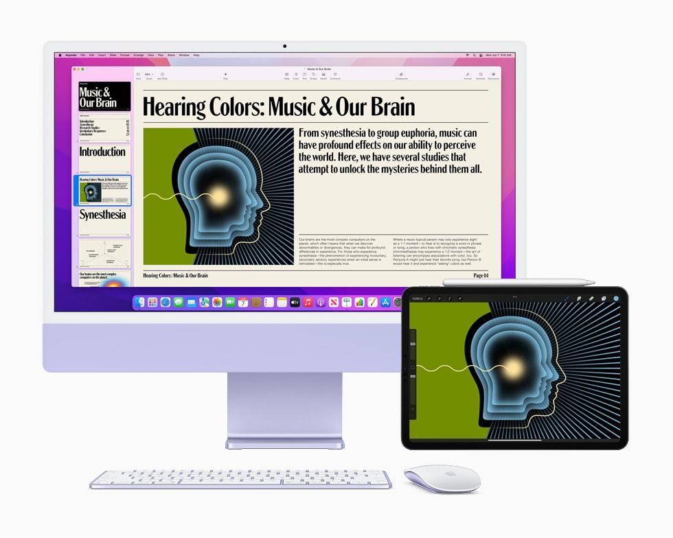 macOS Monterey iPad