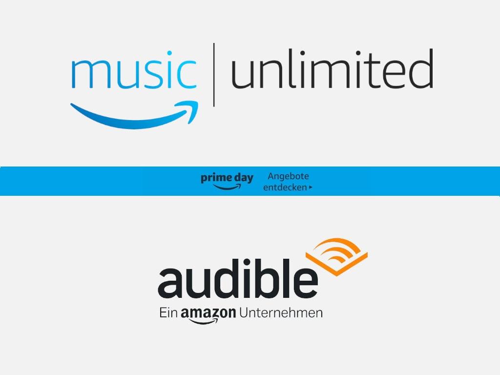 Music Unlimited und Audible zum Prime Day