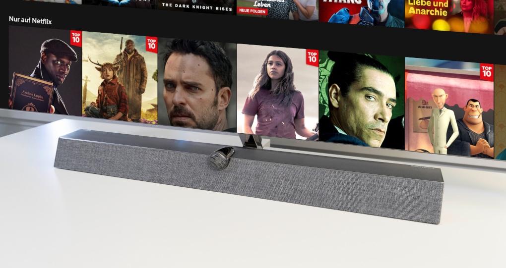 Philips TV mit Soundbar