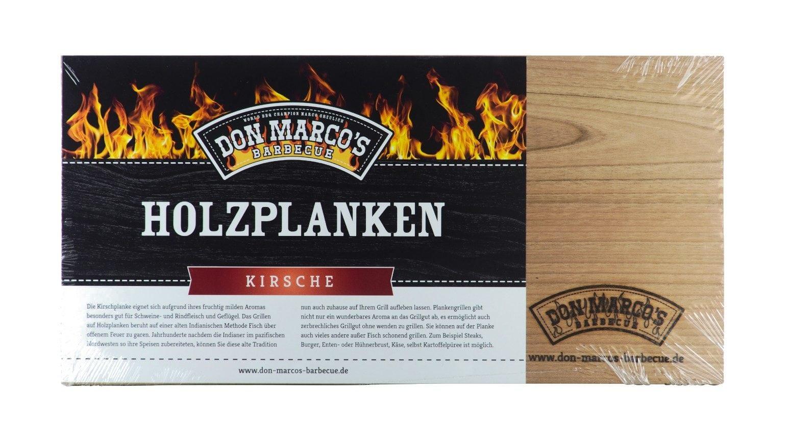 Holzplanken zum Grillen