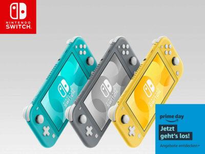 Nintendo Switch: Angebot zum Prime Day