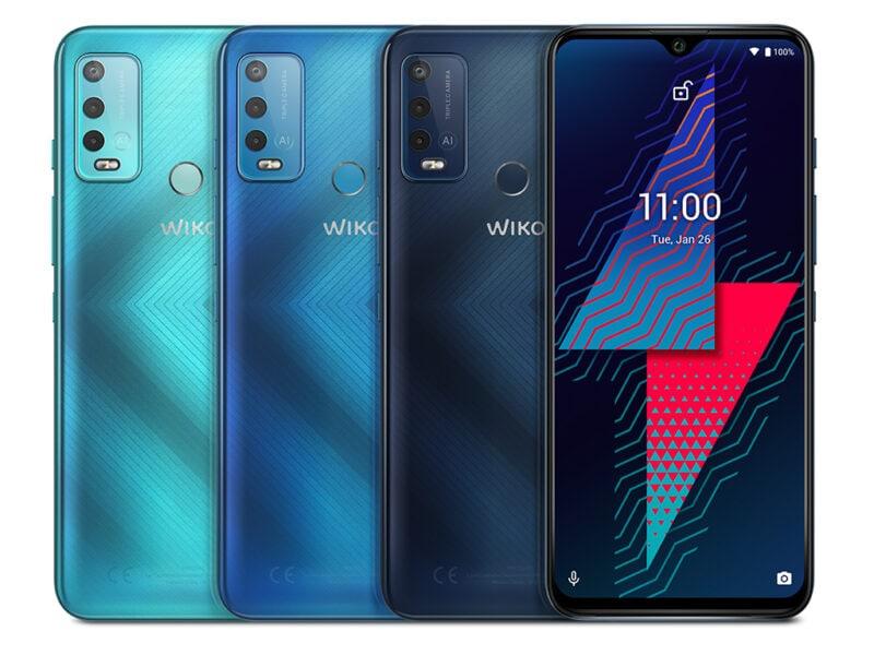 Das Wiko Power U30-Smartphones gibt es in drei verschiedenen Farben.