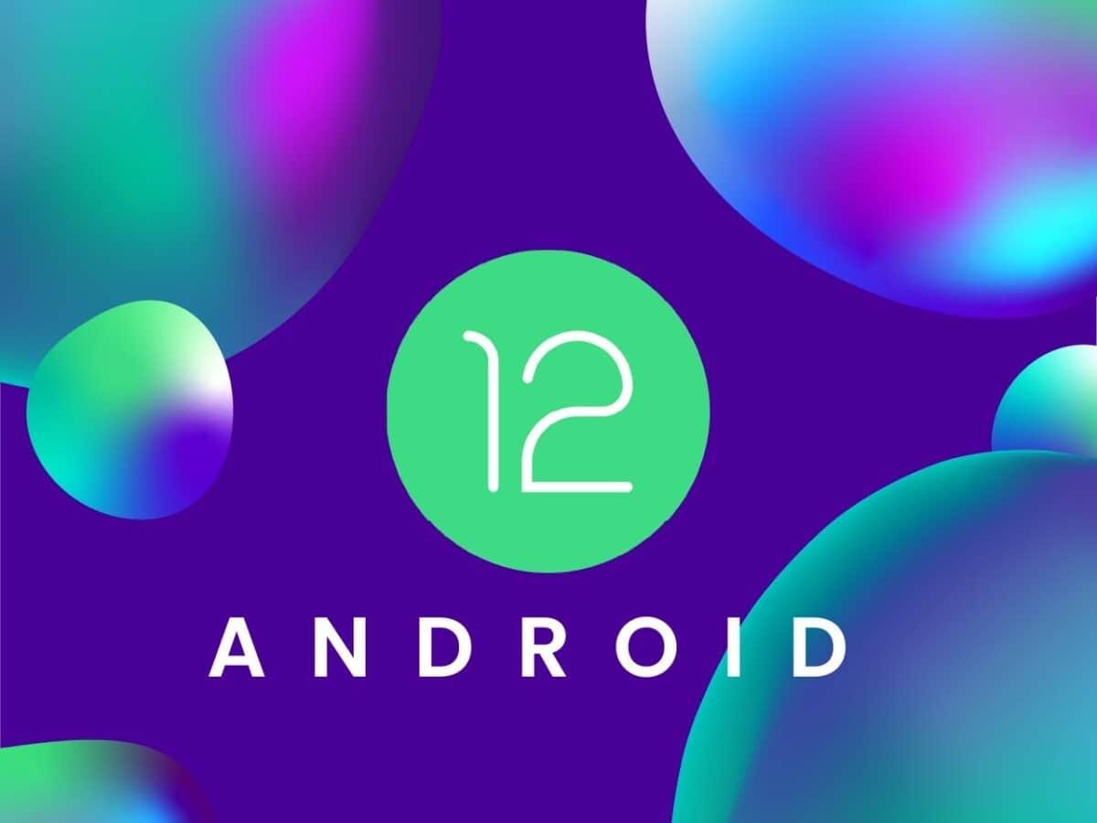 Das Logo von Android 12