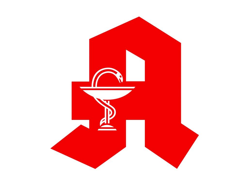Das Logo einer Apotheke.