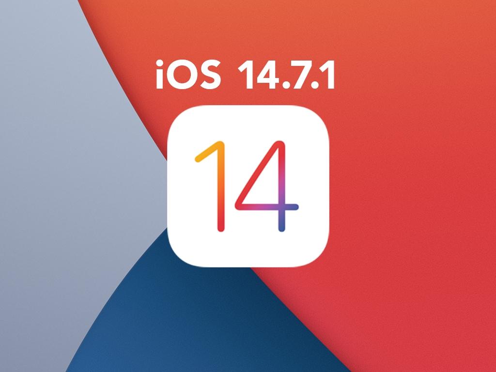 Das Symbol für ein iOS Update