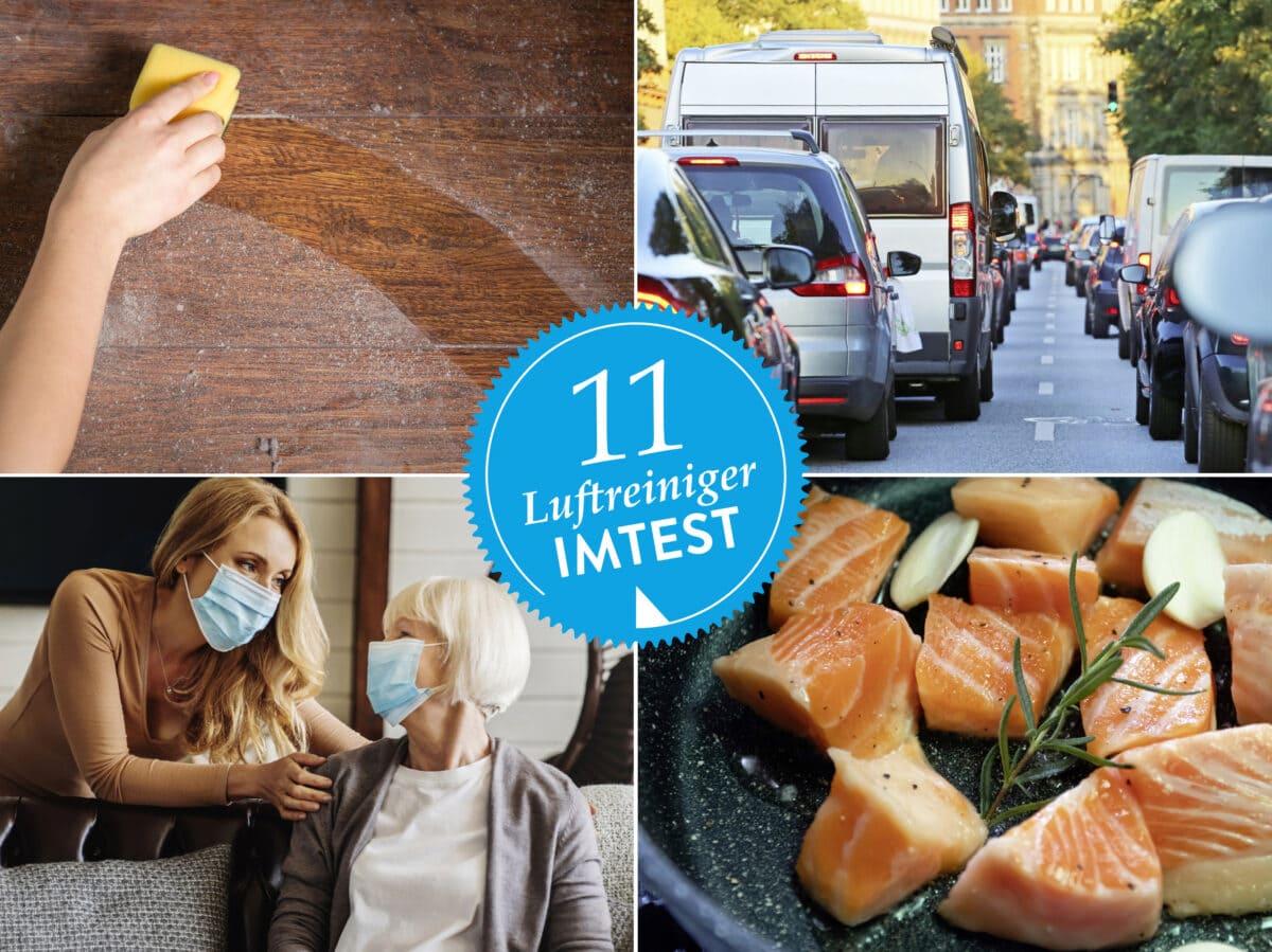 Luftreiniger gegen Viren, Hausstaub und Gerüche
