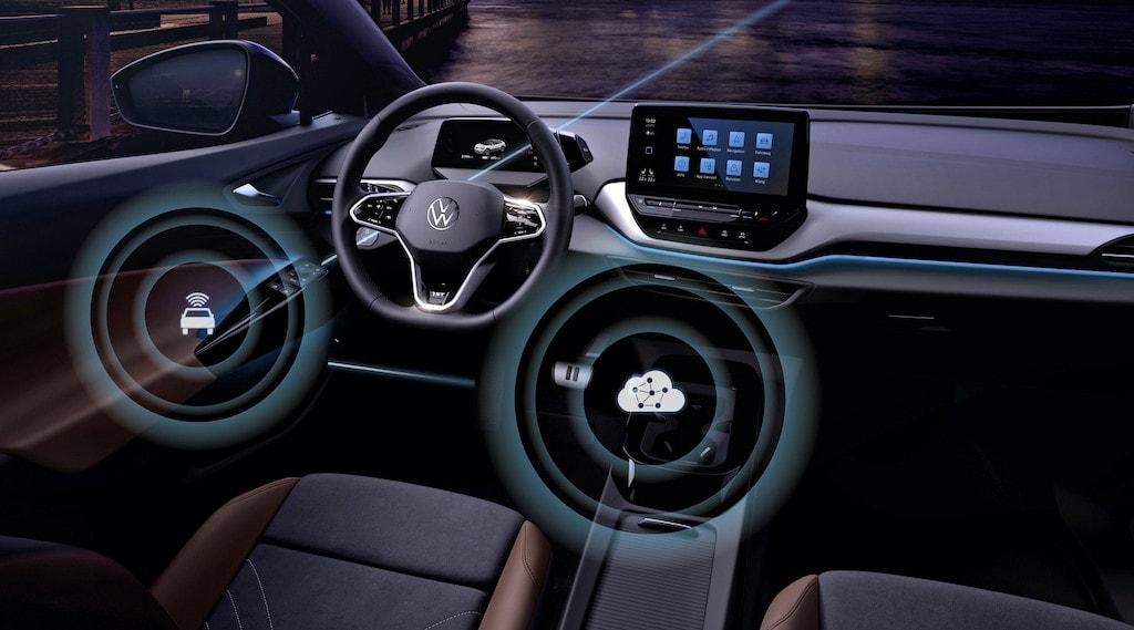 Das Cockpit des VW ID.4