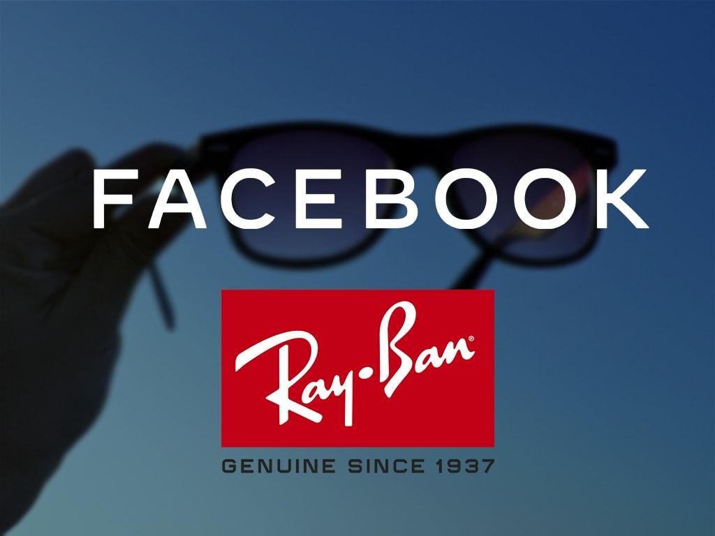 Das Logo der Zusammenarbeit von Ray-Ban und Facebook.