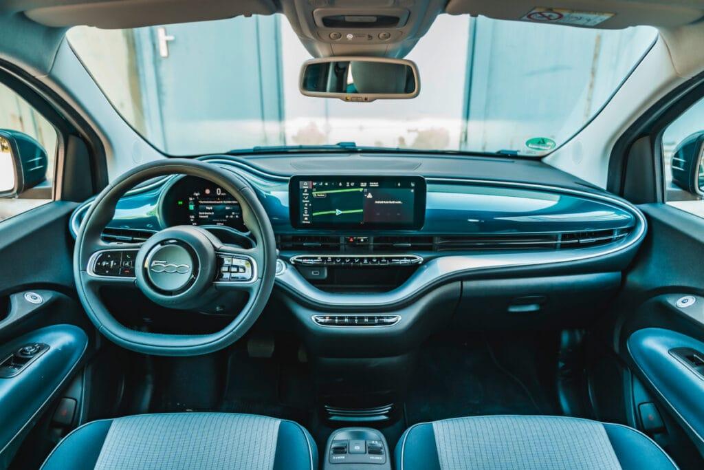 Cockpit des Fiats