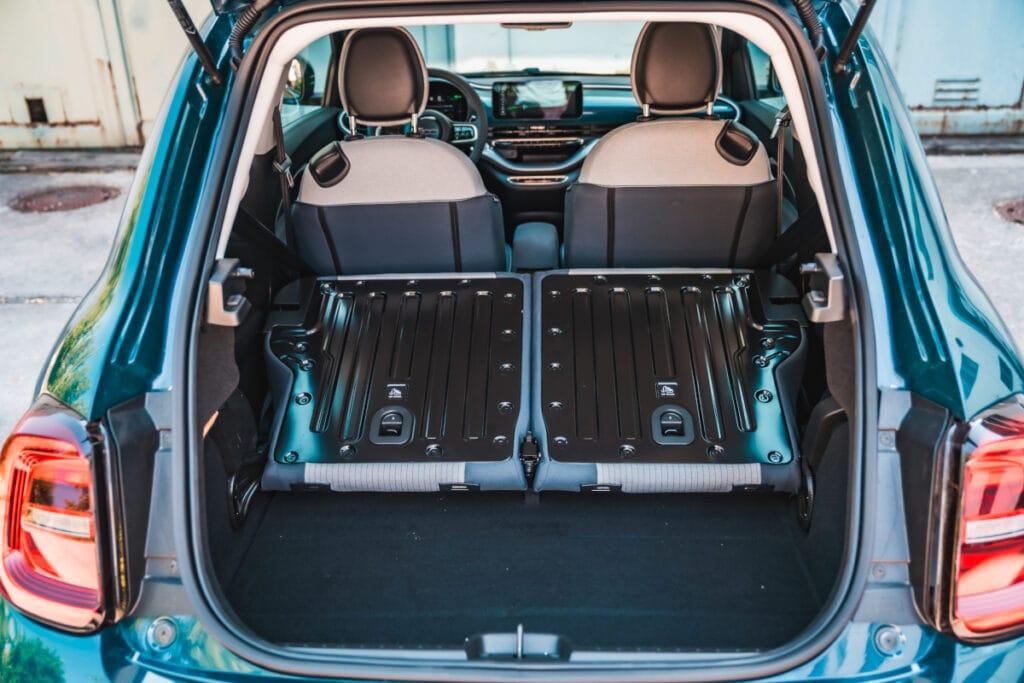 Kofferraum des Fiats
