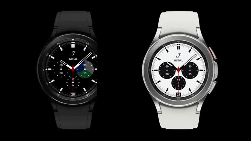 Die Samsung Galaxy Watch Active 4 wird es wohl in zwei Farben geben – schwarz und weiß.
