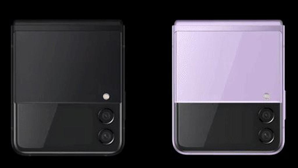 Das Samsung Galaxy Z Flip 3 soll künftig zweifarbig werden.