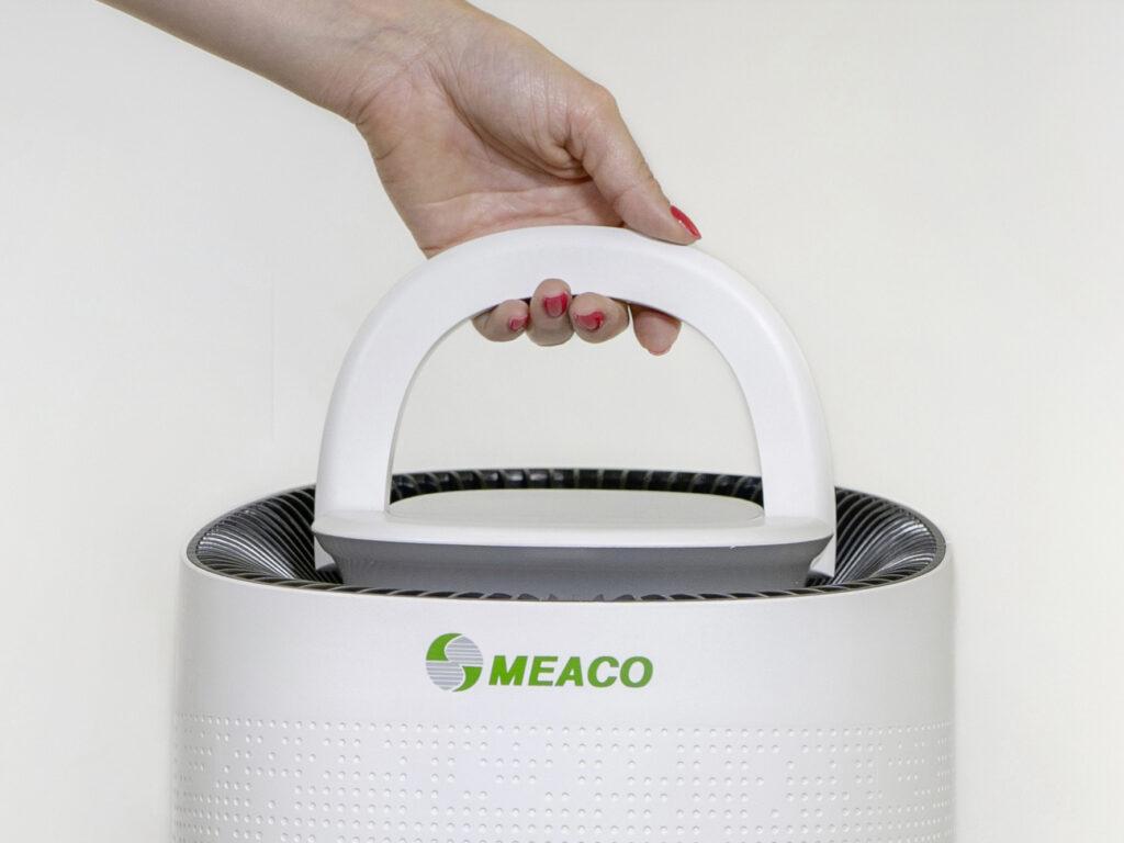 Das Maeco-Gerät hat einen Tragegriff