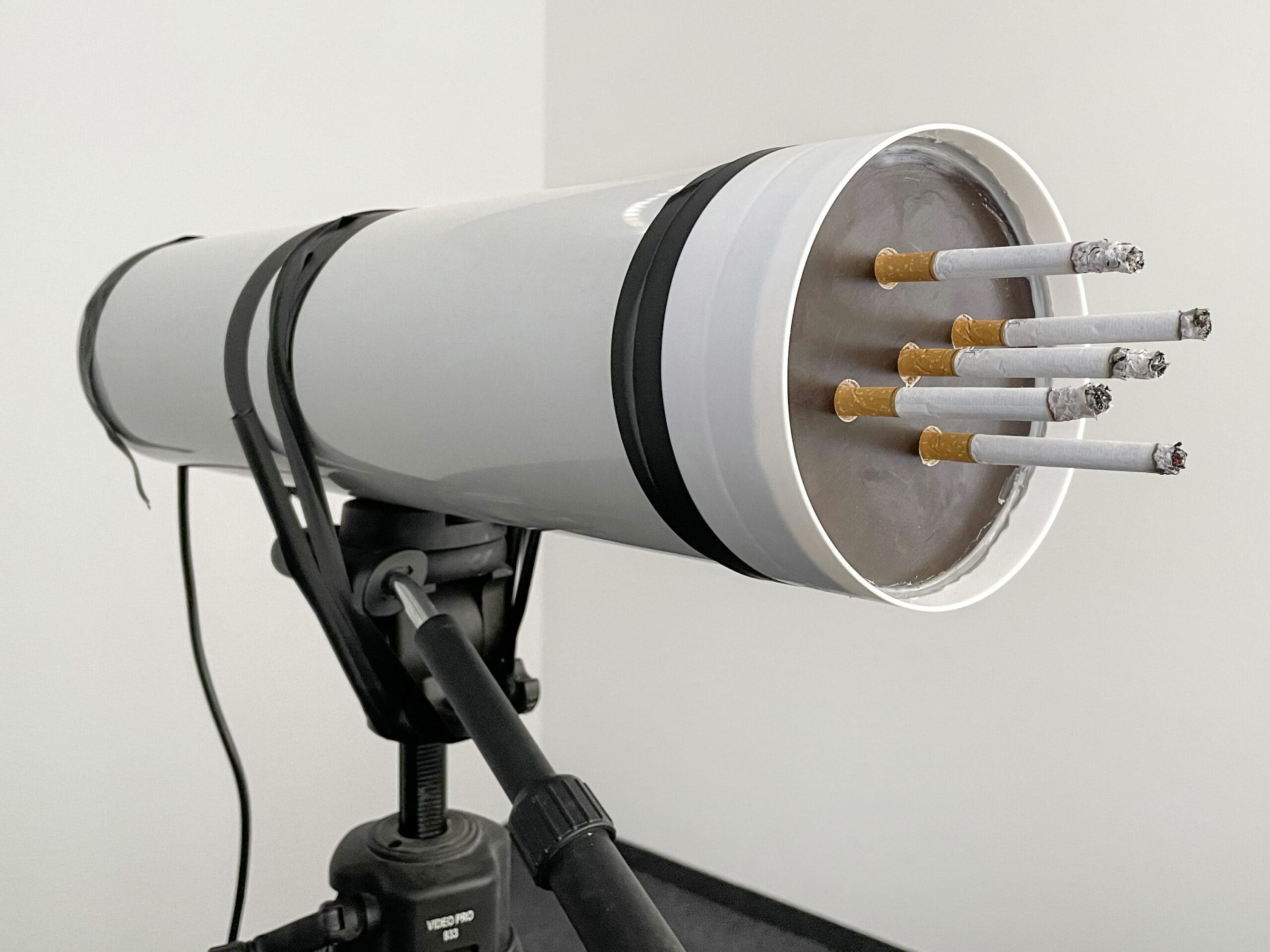 Rauchtest der Reiniger