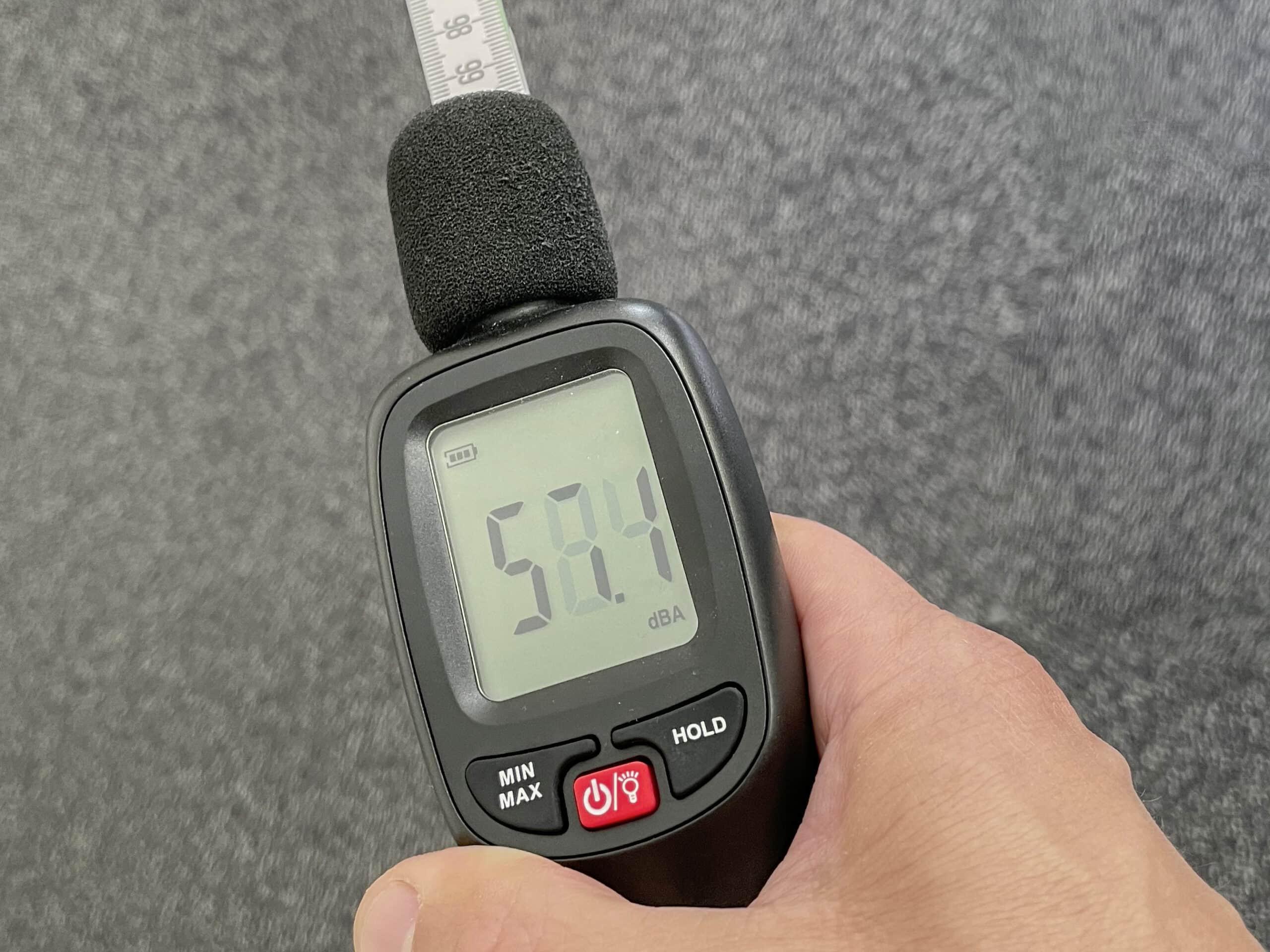 Lautstärker Messung der Geräte