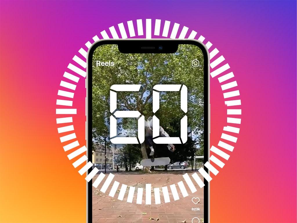 Eine symbolische Darstellung von Instagram.