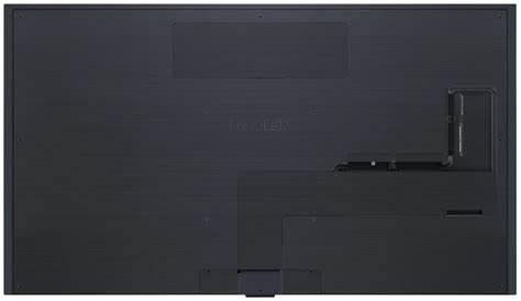 Die Rückseite des LG-Fernsehers