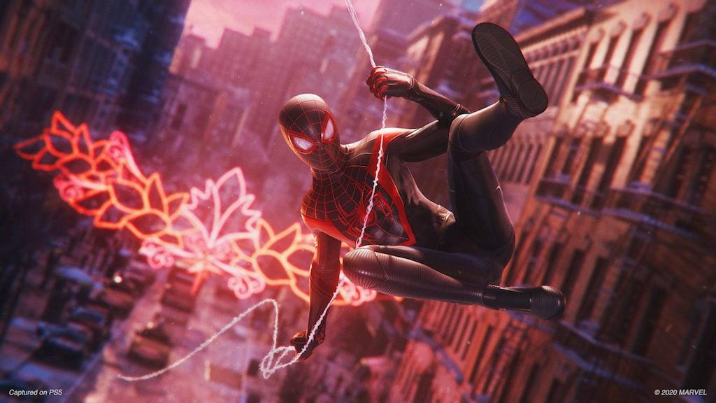 Spider-Man schwingt sich durch New York
