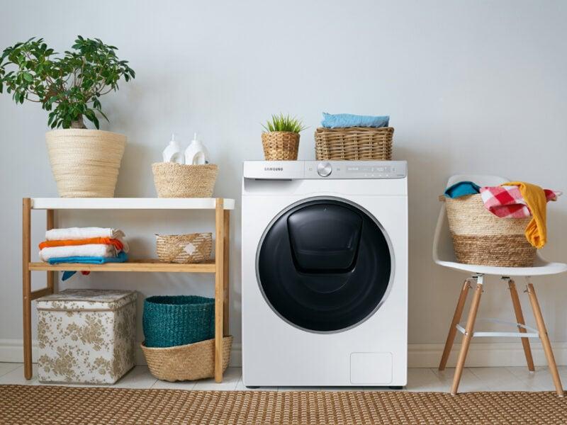 Eine smarte Waschmaschine von Samsung