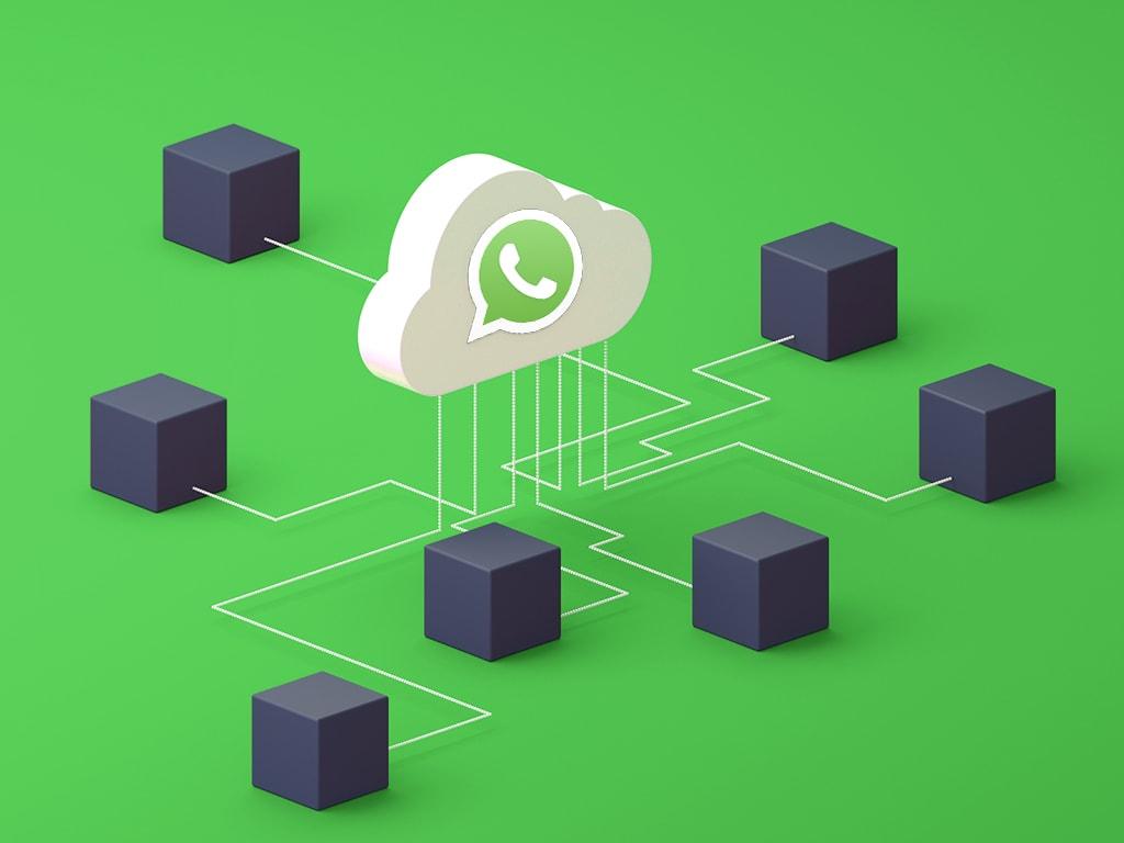 Eine symbolische Darstellung einer WhatsApp-Funktion.