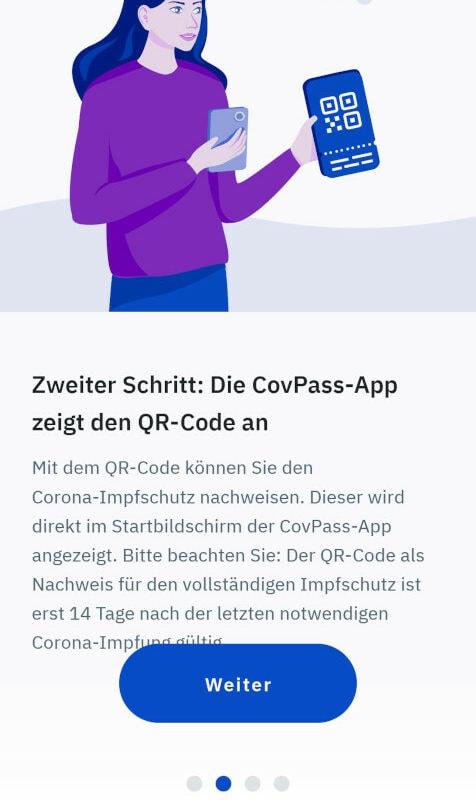 CovPass App Schritt 2