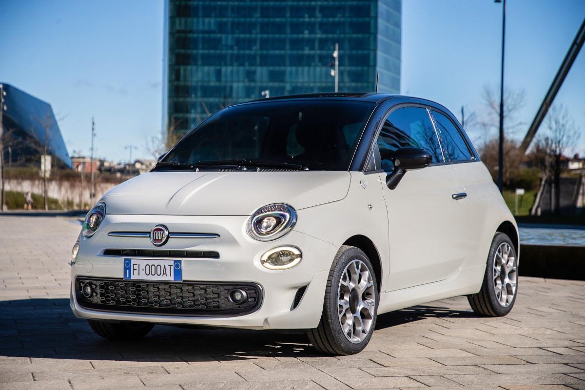 Fiat-Sondermodell in der Front-Ansicht