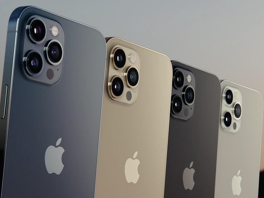 Das iPhone in verschiedenen Farben.