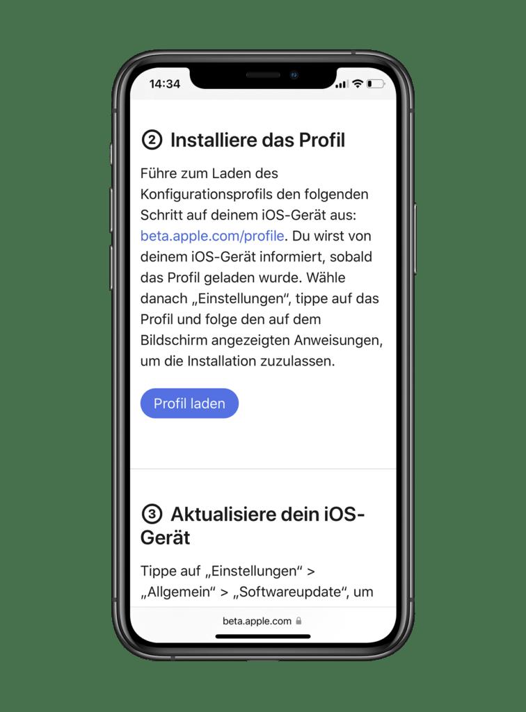 ios 15 installation