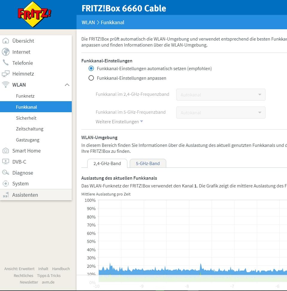 Fritzbox-Einstellungen