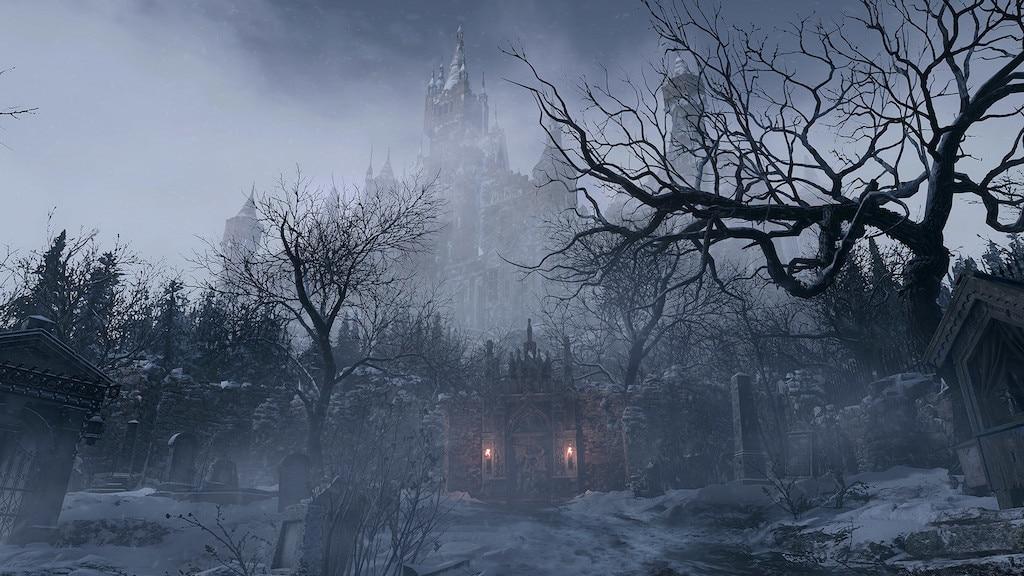 Eine Szene aus dem Videospiel Resident Evil Village