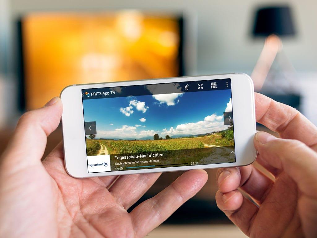 TV Streaming auf das Smartphone