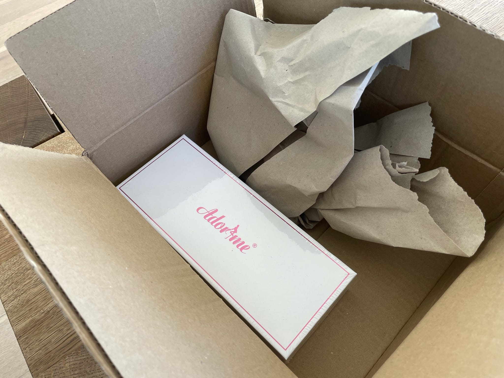 Paket von Amazon geöffnet