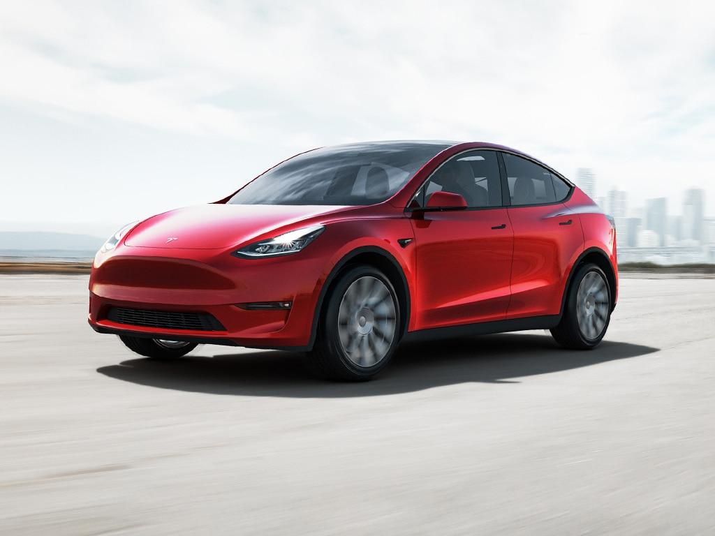 Modell Y von Tesla.