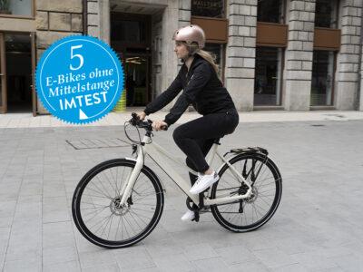 E-Bikes für Damen und Herren im Test