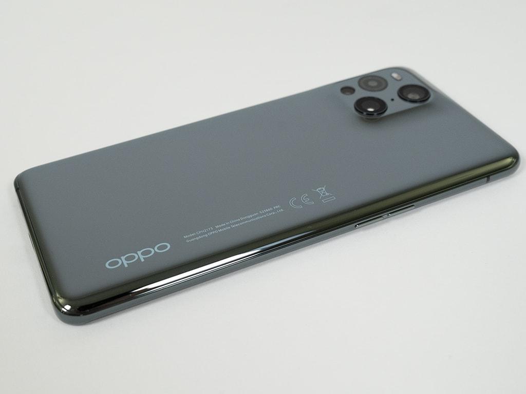 Rückseite des Oppo Find X3 Pro