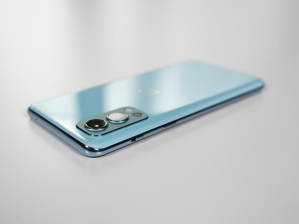 OnePlus Nord 2 Rückseite Alurahmen