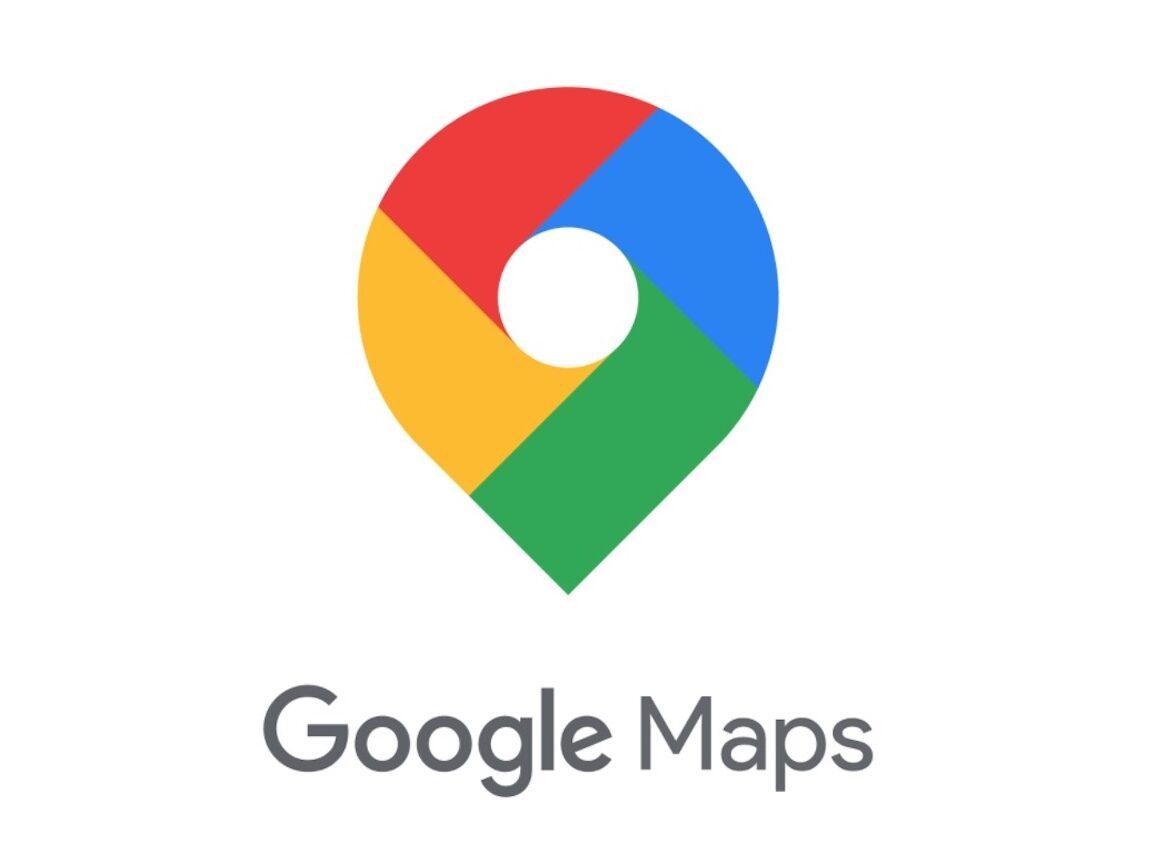 Das Logo von Google Maps