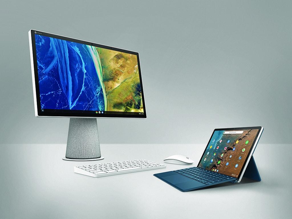 HP Chromebase und HP Chromebook x2 11