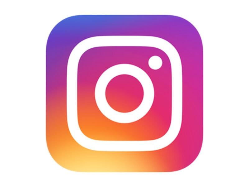 Das Logo von Instagram.