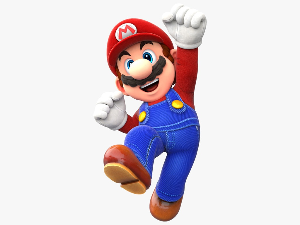 Die Spielfigur Mario