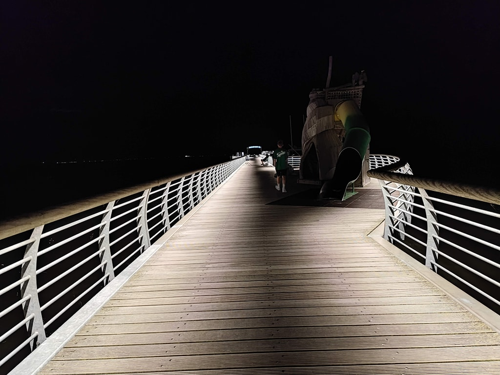 Rohling bei Nacht