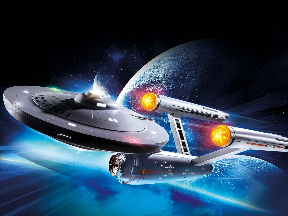 Die U.S.S. Enterprise NCC-1701 von Playmobil