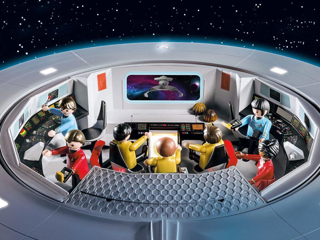 Die Brücke der U.S.S. Enterprise NCC-1701 von Playmobil