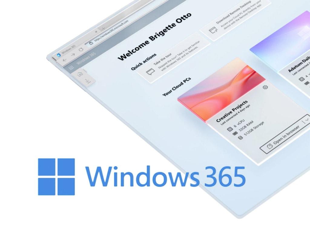 Das Logo von Windows 365