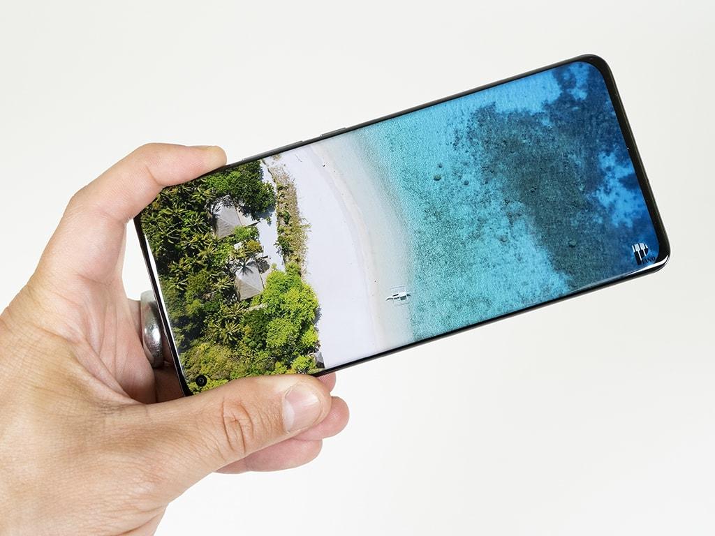 Bildschirm des Xiaomi Mi 11 Ultra