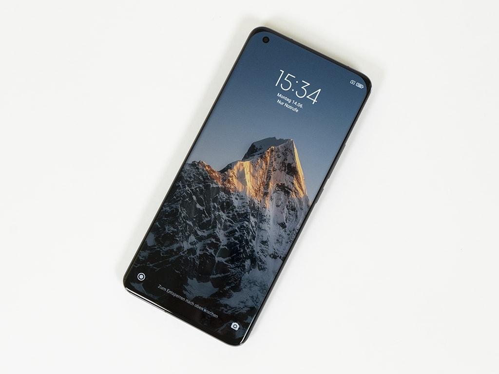 Xiaomi Mi 11 Ultra Display frontal