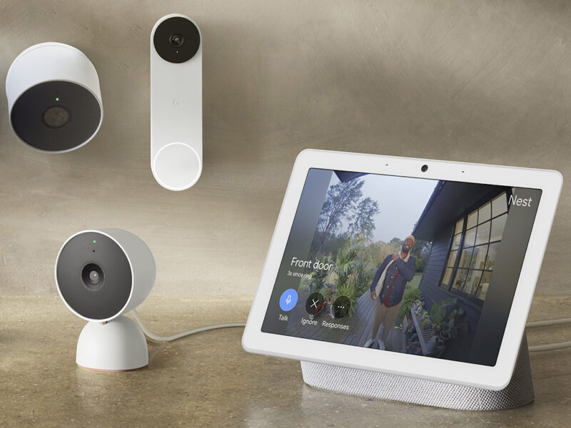 DIe Nest-Produkte von Google